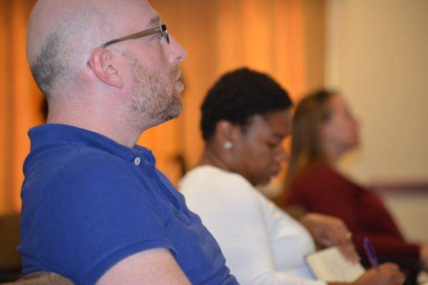 audience at CEPA speaker series