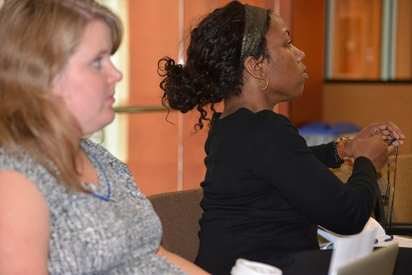 audience members at CEPA Speaker Series